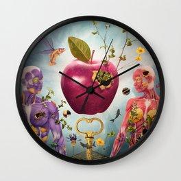 Adam's Apple Wall Clock