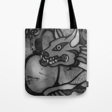 Garuda Dog Tote Bag