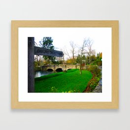 A day in the Cotswold's Framed Art Print
