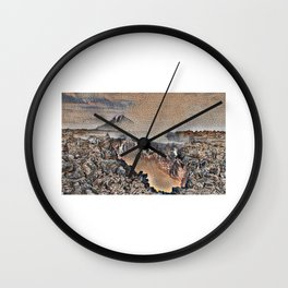 gate To Hell, Kamchatka Wall Clock