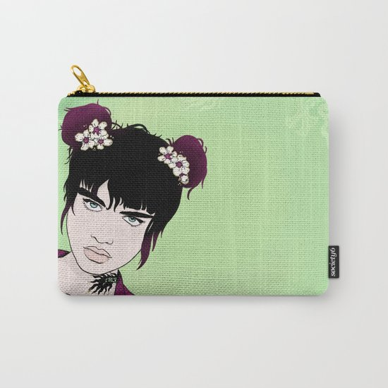 Badass Dragon Lady Carry-All Pouch