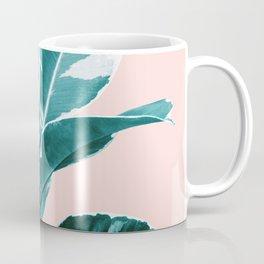 Ficus Elastica Finesse #2 #tropical #foliage #decor #art #society6 Coffee Mug