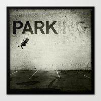 banksy Canvas Prints featuring Banksy Tag by Adam Reynolds