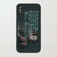 arya stark iPhone & iPod Cases featuring Arya Stark, Valar Morghulis by Your Friend Elle
