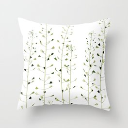 Thlaspi Throw Pillow