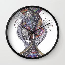 Graphic Wall Clock
