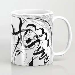 Female Nude #2 - b&w Coffee Mug
