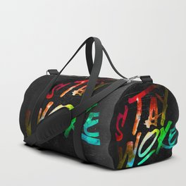 Stay Woke Duffle Bag