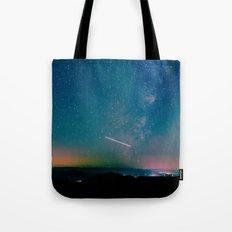 Desert Summer Milky Way Tote Bag
