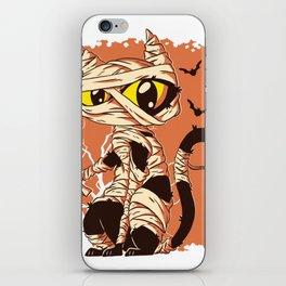 Cat Mummy iPhone Skin