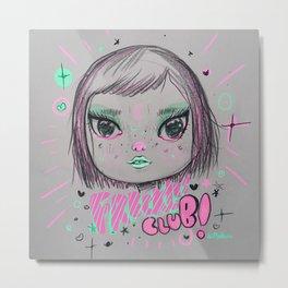 Freckles club Metal Print