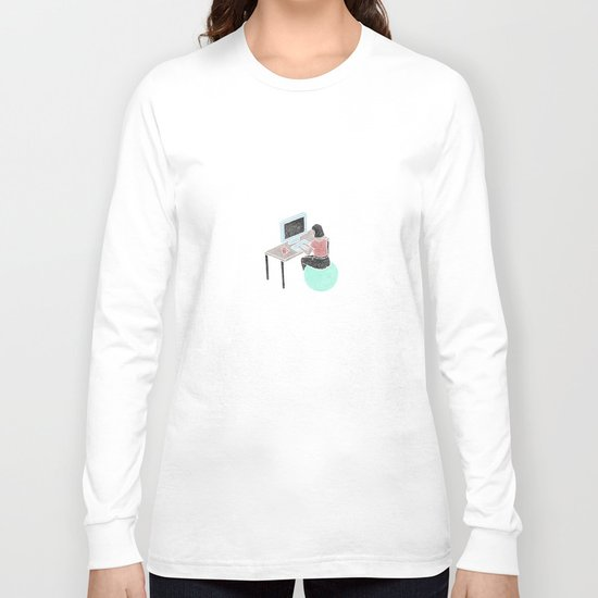 Office Bounce Long Sleeve T-shirt