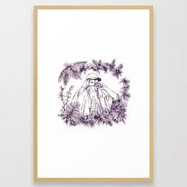 Some feelings Framed Art Print