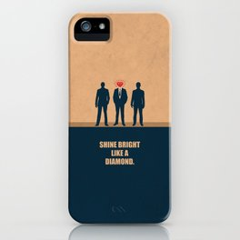 Lab No. 4 - Shine Bright Like A Diamond Corporate Startup Quotes iPhone Case