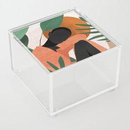 Tropical Girl 10 Acrylic Box