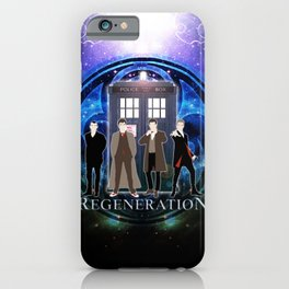 The Doctor Of Regeneration iPhone Case