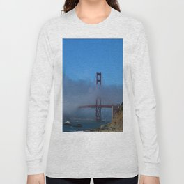 Golden Gate Brigde Long Sleeve T-shirt