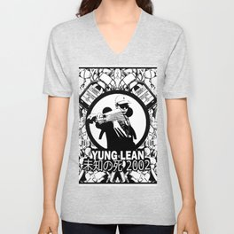 Yung Lean - Stackin it Unisex V-Neck
