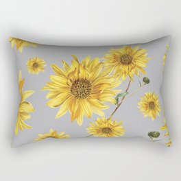 Sunflower Pattern 5 Rectangular Pillow