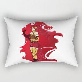 RWBY Pyrrha Rectangular Pillow