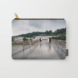 Padlock bridge in Salzburg Carry-All Pouch