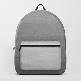Touching Black Gray White Watercolor Abstract #2 #painting #decor #art #society6 Backpack