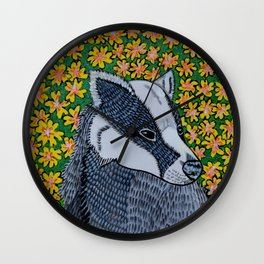 Badger Badger Badger Wall Clock