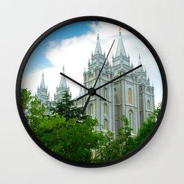 SLC Temple Wall Clock
