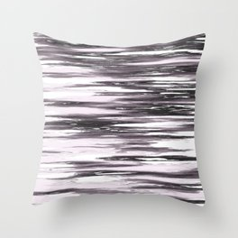 Distressed Wood Pink Throw Pillow
