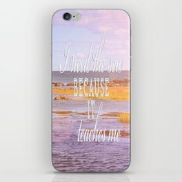I Need the Sea  iPhone Skin