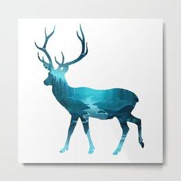 Precious Deer Metal Print