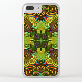 Amazonian 4 Clear iPhone Case