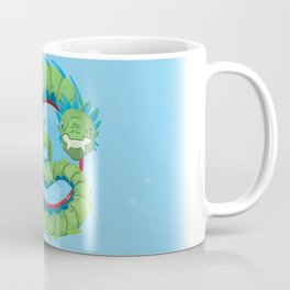 Quetzalcoatl, the Flying Dragon Serpent of the Aztec Coffee Mug
