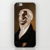 rorschach iPhone & iPod Skins featuring Rorschach by DIVIDUS