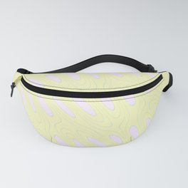 Geo Flow Yellow Pink Fanny Pack