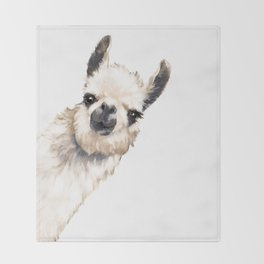 Sneaky Llama White Decke