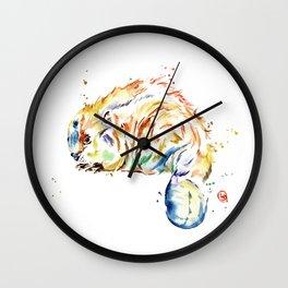 Beaver - Oh Canada Wall Clock