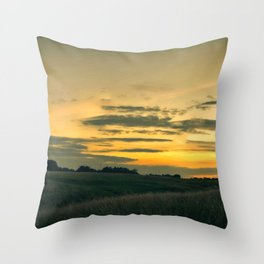 Dublin Sunset Throw Pillow
