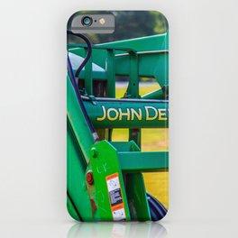 Deere 620 Tractor Close-Up iPhone Case