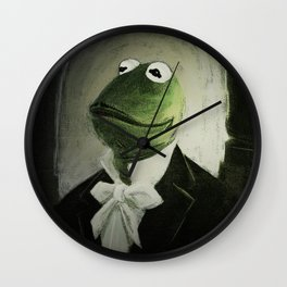 Sir Kermit Wall Clock