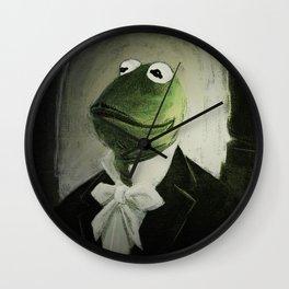 Sir Kermit Wall Clock