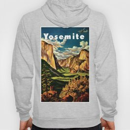 Yosemite National Park - Vintage Travel Hoody