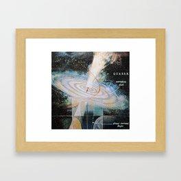 quasar Framed Art Print