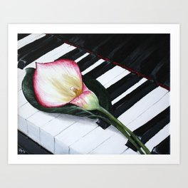 Ode to Beauty Art Print