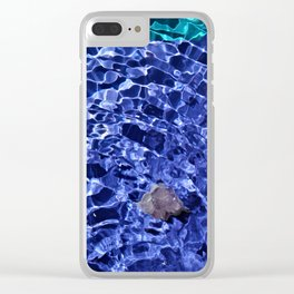 Upward Amethyst Vibes Clear iPhone Case