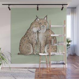 Lynx Love Wall Mural