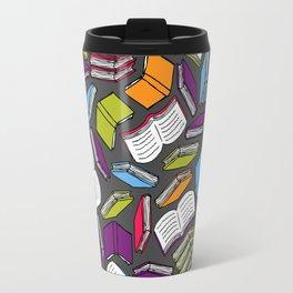 So Many Colorful Books... Travel Mug