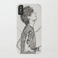 louis ck iPhone & iPod Cases featuring Louis by harrydoodles
