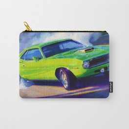 1970 Plymouth Hemi Cuda car Carry-All Pouch