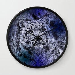 Leopard20151204 Wall Clock